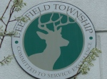 Deerfield Township sign