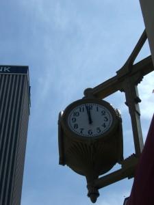 Cincinnati clock