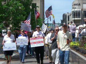 Cincinnati Tea Party IRS Rally 7