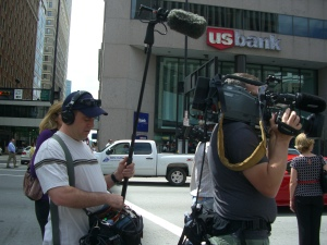 NBC news crew