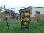 Keep Deerfield Safe sign